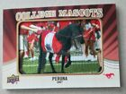 2013 Upper Deck Football College Mascots Patch Card Guide 64