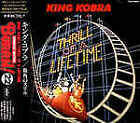 KING KOBRA Thrill Of A Lifetime JAPAN CD TOCP-8103 1993 OBI s6472