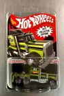 HOT WHEELS 2017 COLLECTOR EDITION LONG GONE SEMI REDLINE RR HEAVY METAL TRUCK