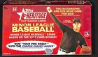 2012 Topps Heritage Minor League Sealed Hobby Box