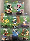 HOT WHEELS NEW WALT DISNEY MICKEY AND FRIENDS  SET OF 8  SEE PICS READ
