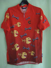 Maillot cycliste Cannondale Made in USA Cycling Piranha Jersey Vintage L