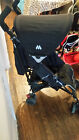 Maclaren Quest black Single Seat Stroller with seat liner & new universal cover