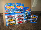 Hot Wheels Nice Lot of 9 Chevy Monte Carlo Concept Variation Virtual Short Card
