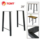 28'' Industry Trapezoid Dinner Table Leg Metal Steel Bench Legs  one set Classic