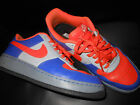 mens 95 Nike Air Force 1 sneakers orange blue gray crocodile leather NY Knicks