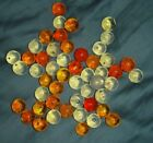 50 CHAMPION MARBLES 1/2 INCH IN SIZE AND FLORESCENT