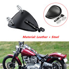 Motorcycle PU Leather Spring Solo Bracket Seat Fit For Harley Chopper Functional