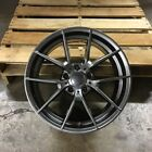 NEW SET OF 4 WHEELS 18 M3 CS STYLE GUNMETAL FITS BMW 3 4 5 SERIES Z3 Z4