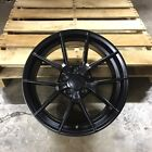 NEW SET OF 4 WHEELS 18 M3 CS STYLE MATTE BLACK FITS BMW 3 4 5 SERIES Z3 Z4