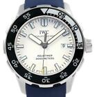 IWC Aquatimer White Dial Rubber Strap Mens Watch IW356805 Box Papers