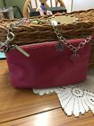 Suzy Smith Ladies Small Pink Chain Strap Evening Shoulder Bag
