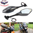 Motorcycle Rearview Side Mirror w/Turn Signal For Honda CBR600RR 03-17 CBR1000RR