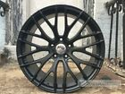 18 A1 MESH STYLE MATTE BLACK WHEELS RIMS FITS HONDA ACCORD EX LX LX S V6