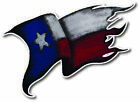 Texas State Flag Tattered Decal Sticker Vinyl Car Truck Jeep Bumper Gift 3M USA