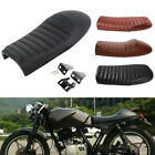 Motorcycle Cafe Racer Flat Brat&Hump Saddle Seat Cushion For Honda Suzuki Yamaha