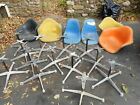 6 Herman Miller Chairs  and 12 Bases