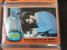 1977 Topps Star Wars #305 Director George Lucas and Greedo Card