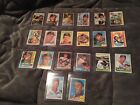 20 DIFFERENT SIGNED AUTOGRAPHED EDDIE ED MATHEWS CARDS 1953 BOWMAN TOPPS HUGE $$