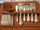 sir christopher, wallace sterling silver flatware in box