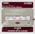 Pioneer 6 Up Refill Pages 6 Pkg For Mp46 Photo Album