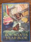 1920 THE BOY SCOUTS YEAR BOOK Mathiews Hardcover 256 pages Illustrated VGC