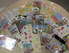 HUGE LOT of 46 Birthday Themed Scrapbook Stickers Vibrant Colors Various Brands