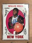1996 Topps Stars Rookie Reprints 1969-70 Topps Willis Reed Certified Autograph