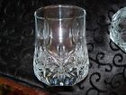 Lot of 7 Crystal Low Ball Glasses