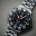 Tag HEUER WAC1110 Formula 1 Professional BLACK dial, Stainless bracelet F1