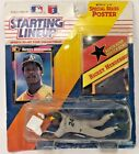 Original 1992 Starting Lineup Figure Rickey Henderson with Card