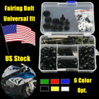 Full Fairing Bolt Set Fasteners Nuts Screws For Yamaha YZF R6S MT-01 V-MAX R25