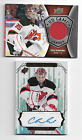 CORY SCHNEIDER 2016 17 UD GAME JERSEY + SPX WHITE OUT AUTO NJ DEVILS FREE S