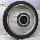 2017 Honda XR650L OEM Front wheel rotor tire mint 820 street miles video 121