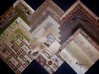12X12 Scrapbook Paper Cardstock DCWV Hunting Fishing Woods Nature Camping 24 Lot