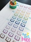 PP136 Small Open Books Life Planner Die cut Stickers for Erin Condren