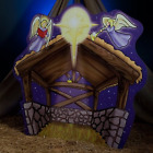 Nativity Manger Standee Party Prop