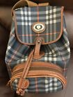 Original leather Burberry back pack