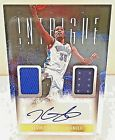 2013 14 Panini Intrigue KEVIN DURANT Autographed Dual Jersey Card #8 49!