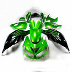 Bodywork Fairing Painted Kit for Kawasaki ZX-14R ZZR1400 2012-2016 Black+Green