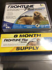Frontline Plus Flea  Tick Treatment for Medium Dogs 23 44 lbs 8 Doses 4557