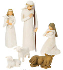Willow Tree Christmas Nativity Set Scene 6 Piece Figures Baby Jesus NEW Figurine