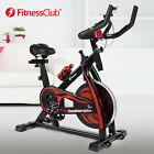 Red Exercise Spin Bike Home Gym Bicycle Cycling Cardio Fitness Training Indoor