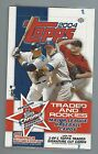 2004 TOPPS ROOKIE & TRADED BASEBALL HOBBY BOX FACTORY SEALED 24PKS HTA