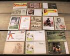 LOT OF 17 BLACK AMERICANA VINTAGE ADVERTISING TRADE POST CARDS incl REAL PHOTO