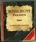 ROYAL HUNT Paradox Closing the Chapter CD + VHS BOX JAPAN TVEP-49053 NEW s6584