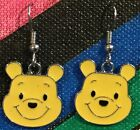 Winnie the Pooh Earrings Disney Bear Surgical New