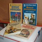 Large Print Westerns Mixed Lot X 4 Ex Library Paperback Good Condition