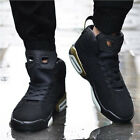 Mens High Top Basketball Casual Shock Absorbing Shoes Sport Running Sneakers