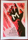 M VINTAGE R90S SPECIAL LB POSTER AMAZING FRITZ LANG CLASSIC WITH BRIGHT ART